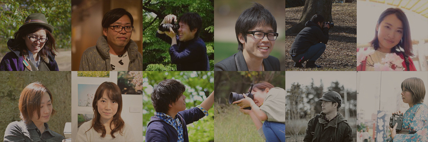 OurPhotoのフォトグラファー達